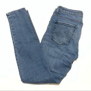 🥳 4/$30 | Forever 21 Blue Jeggings size 29